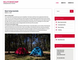 kellysbasecamp.com.au screenshot