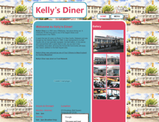 kellysdiner.net screenshot