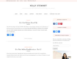 kellystewart.org screenshot