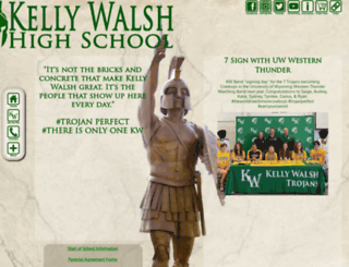 kellywalsh.org screenshot