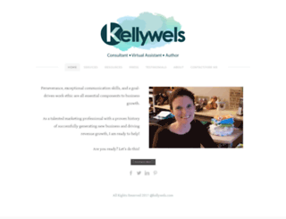 kellywels.com screenshot