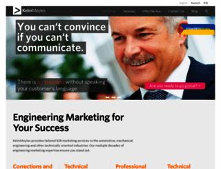 kelmmoyles.com screenshot
