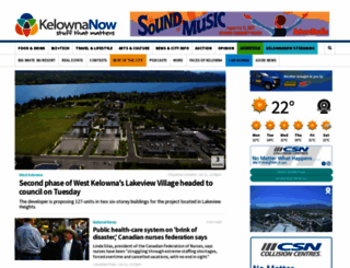kelownanow.com screenshot