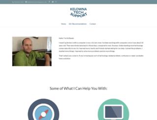 kelownatechsupport.com screenshot