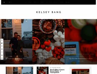 kelseybang.com screenshot