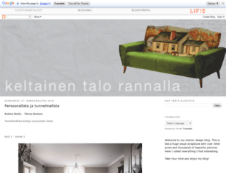keltainentalorannalla.blogspot.fi screenshot