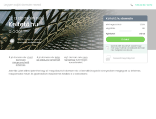 kelteto.hu screenshot