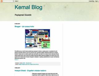 kemal-blog.blogspot.com screenshot