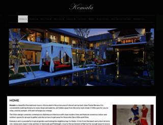 kemalavillabali.com screenshot