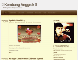 kembanganggrek.wordpress.com screenshot