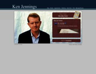 ken-jennings.com screenshot