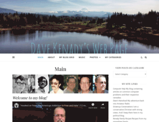 kenady.org screenshot