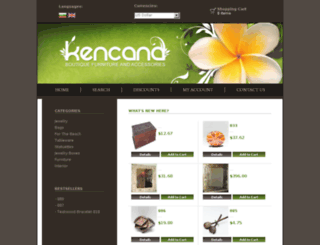 kencana-art.com screenshot