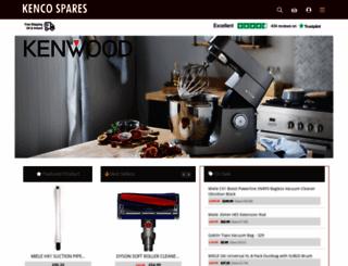 kencospares.com screenshot