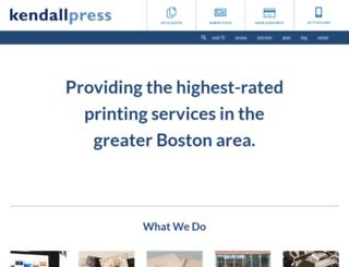 kendall-press.com screenshot