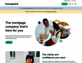 kendellwebb.homepointfinancial.com screenshot