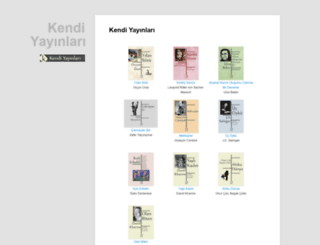 kendiyayinlari.com screenshot