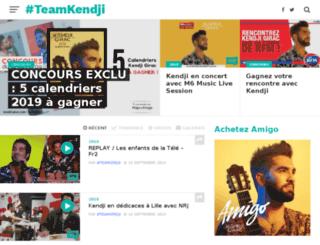 kendji-girac.com screenshot
