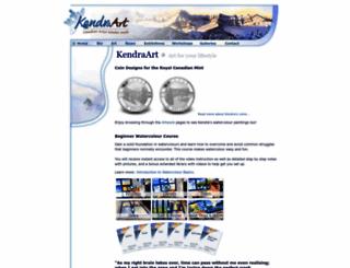 kendraart.com screenshot
