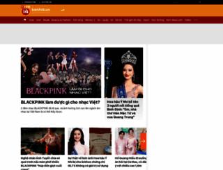 kenh14.vn screenshot