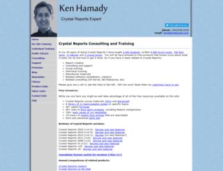 kenhamady.com screenshot