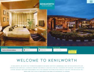 kenilworthhotels.com screenshot
