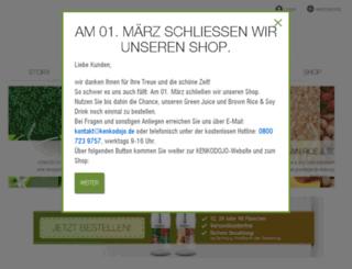 kenkodojo.de screenshot