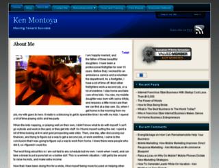 kenmontoya.com screenshot