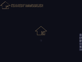 kennedy-immobilier.com screenshot