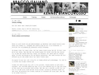 kennelbiancorosso.blogspot.com screenshot