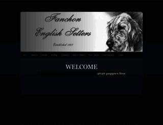 kennelfanchon.com screenshot