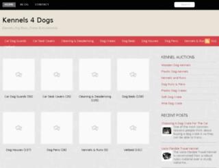 kennels4dogs.co.uk screenshot