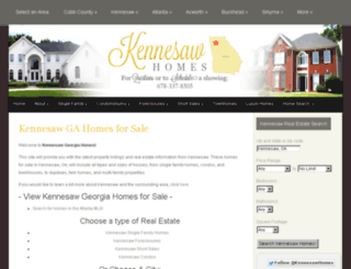 kennesawgeorgiahomes.com screenshot