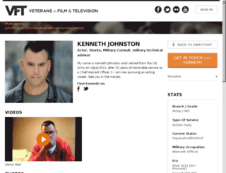 kennethmjohnston.com screenshot
