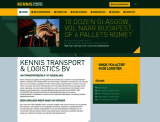 kennistransport.com screenshot