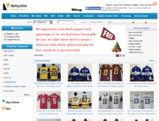 kennyjersey.com screenshot