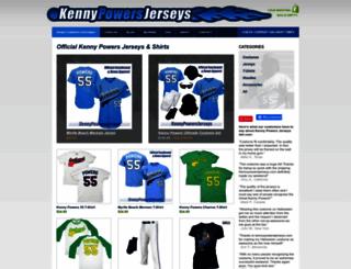kennypowersjerseys.com screenshot