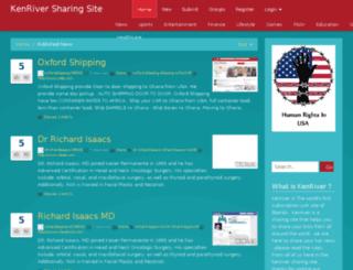 kenriver.com screenshot