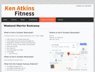 kensbootcamp.com screenshot