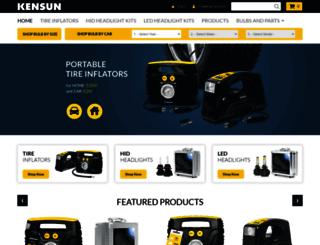 kensun.com screenshot