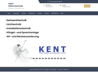 kent-kiel.de screenshot