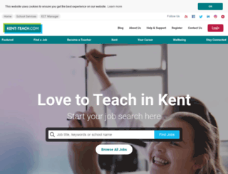 kent-teach.com screenshot