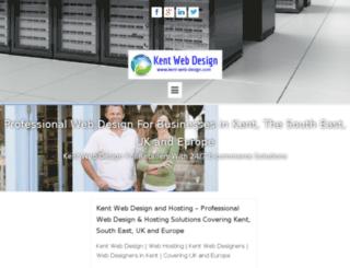 kent-web-design.eu screenshot