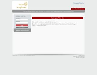 kent.mycampusdirector.com screenshot