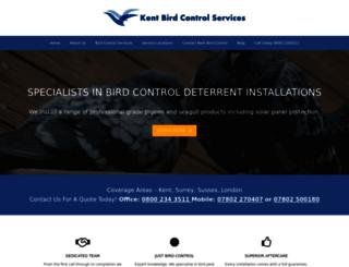 kentbirdcontrolservices.com screenshot