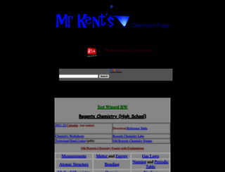 kentchemistry.com screenshot