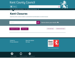 kentclosures.co.uk screenshot