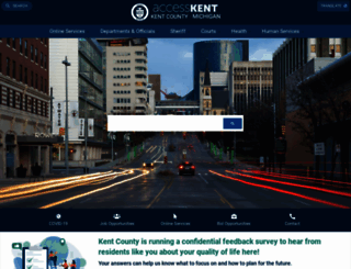 kentcountymi.gov screenshot