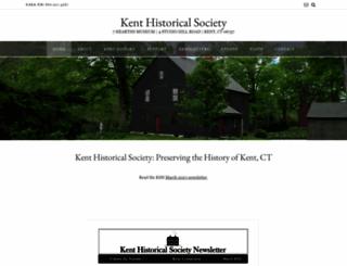 kenthistoricalsociety.org screenshot