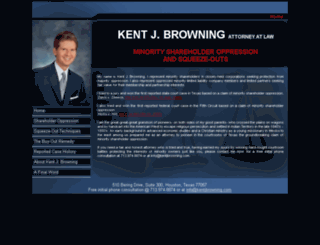 kentjbrowning.com screenshot